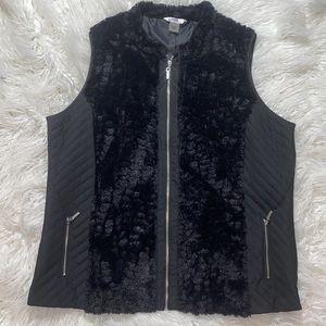 ‼️ Faux Fur Alia Stunning Zip Vest